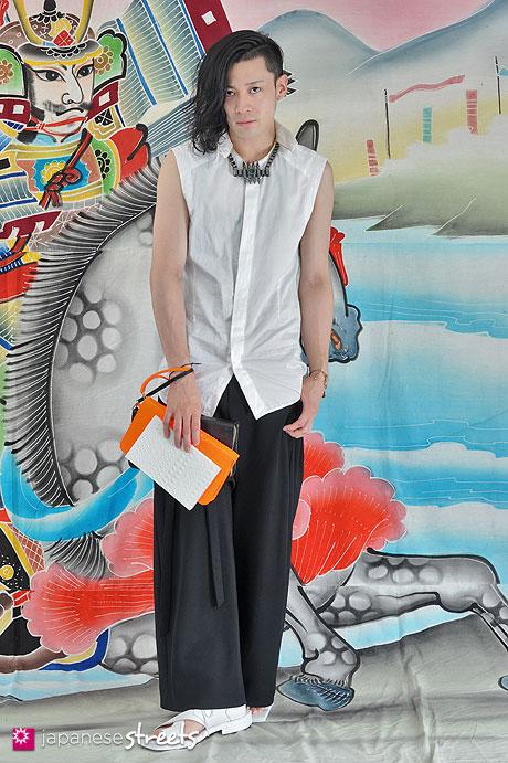 130623-6037 - Japanese street fashion in Harajuku, Tokyo.