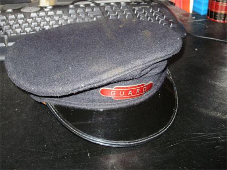 RAILWAY GUARD HAT