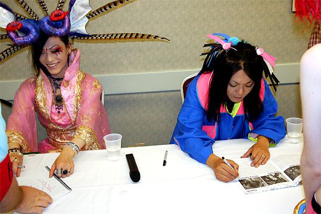 Selia and Takuya Angel at Anime North