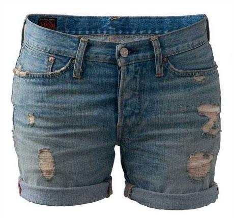 Womens Soni Boyfriend Shorts by Evisu