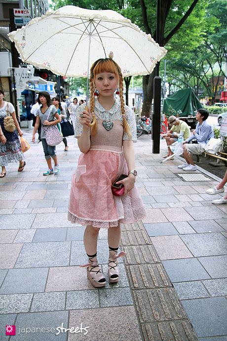100731-5951-EK: Harajuku, Tokyo, Ur, Lady Van Heusen, Vivienne Westwood