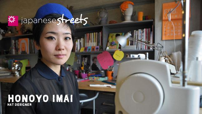 Tokyo hat designer Honoyo Imai