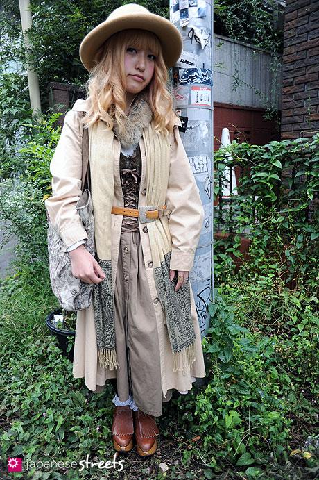 101024-5991: Street fashion Harajuku, Tokyo, Stormy Weather, Vivienne Westwood