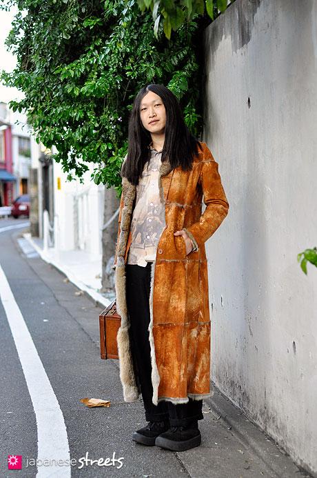 101208-8527-MT: Street fashion Harajuku, Tokyo, Belly Button