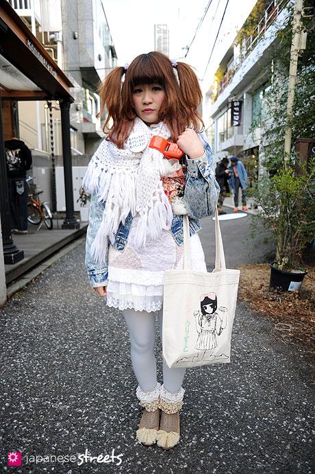 110218-8543: Harajuku, Tokyo, Momoko Kimura, Pepe