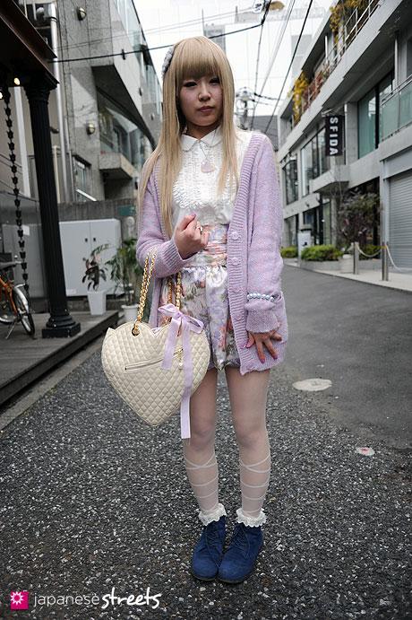110219-8930: Harajuku, Tokyo, OLIVEdesOLIVE, Lililly, tutu anna