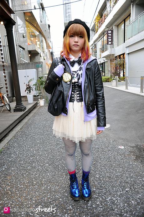 110219-9233: Harajuku, Tokyo, PEEK-A-BOO, SPINNS, Romantic Standard, Dr.Martens