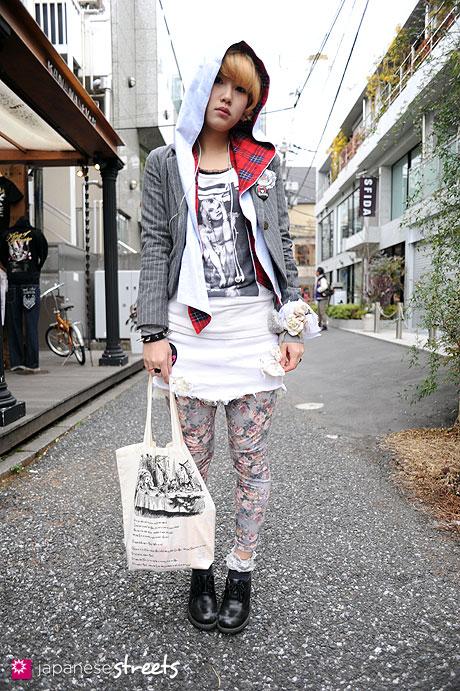 110220-9560: Harajuku, Tokyo, Romantic Standard, PEEK-A-BOO, Dr.Martens, Historic Grammar