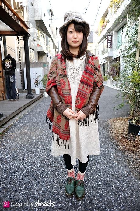 110221-0086: Harajuku, Tokyo, LOWRYS FARM, SM2, Vivienne Westwood, Dr.Martens