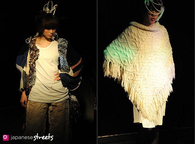 110221-0232-110221-0241: FASHION IN PROGRESS Fashion Show in Osaka