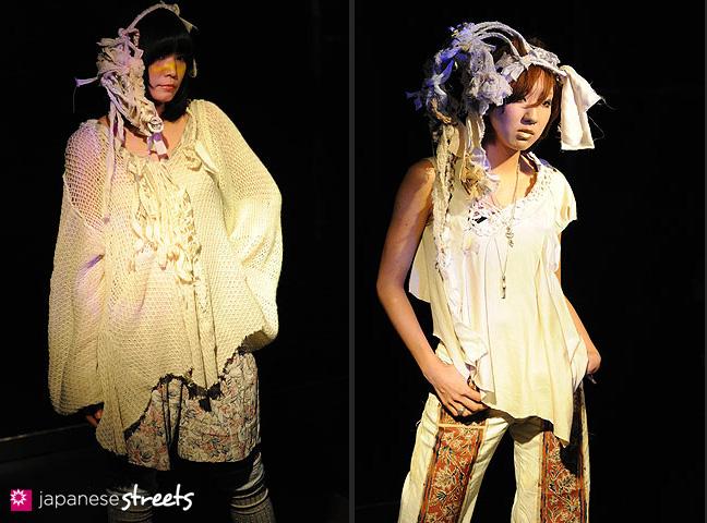 110221-0266-110221-0271: FASHION IN PROGRESS Fashion Show in Osaka