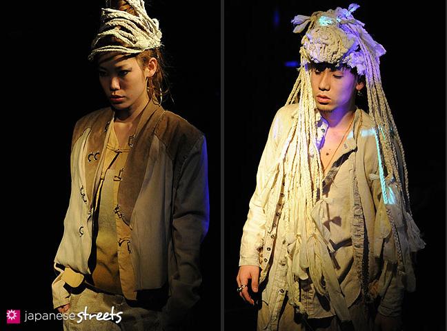 110221-0310-110221-0312: FASHION IN PROGRESS Fashion Show in Osaka