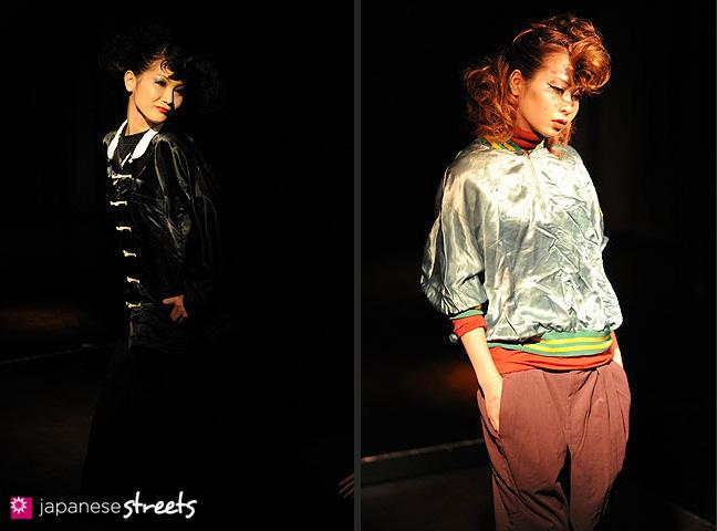 110221-0336-110221-0339: FASHION IN PROGRESS Fashion Show in Osaka