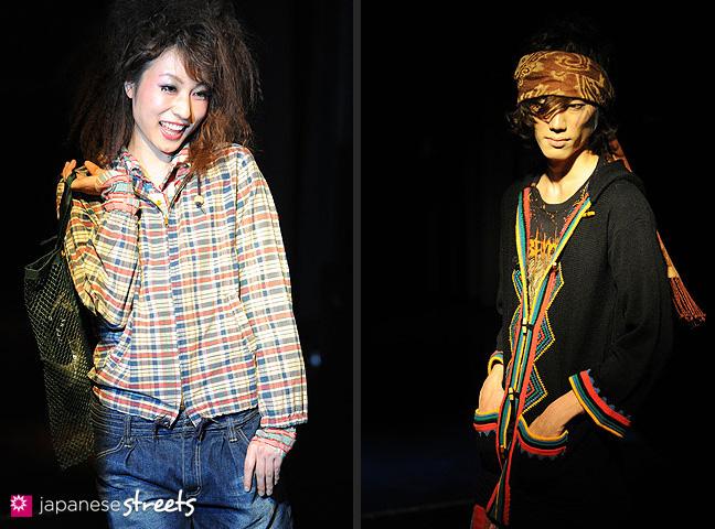 110221-0345-110221-0346: FASHION IN PROGRESS Fashion Show in Osaka