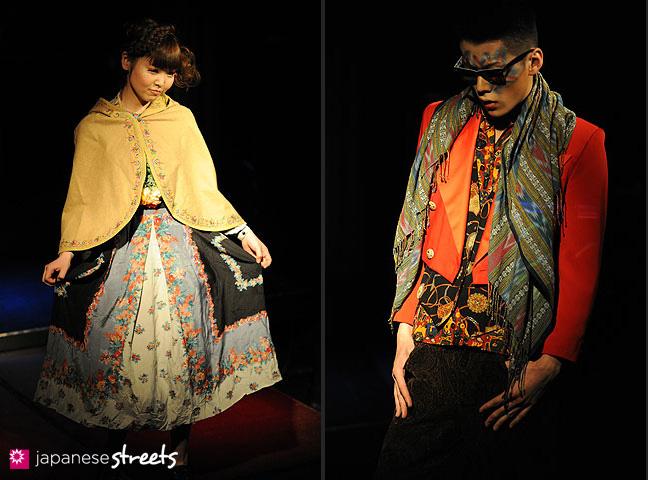 110221-0350-110221-0352: FASHION IN PROGRESS Fashion Show in Osaka