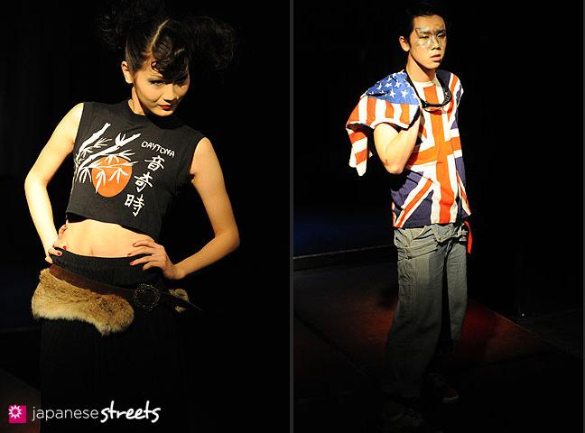 110221-0357-110221-0359: FASHION IN PROGRESS Fashion Show in Osaka