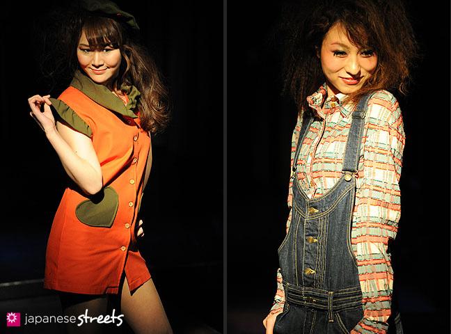 110221-0365-110221-0367: FASHION IN PROGRESS Fashion Show in Osaka