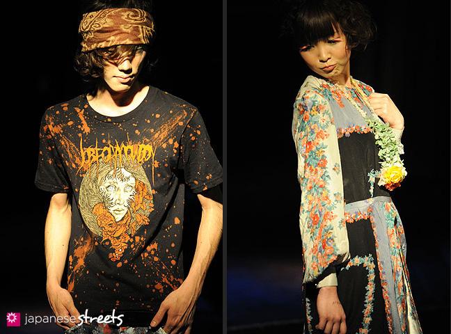 110221-0368-110221-0371: FASHION IN PROGRESS Fashion Show in Osaka