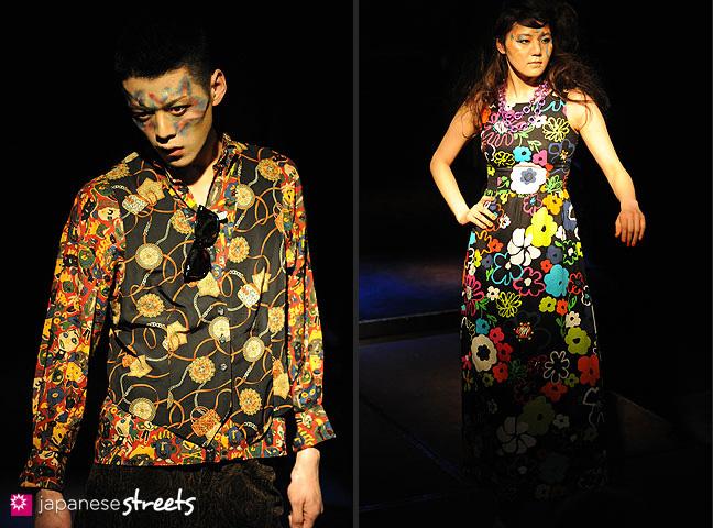 110221-0372-110221-0375: FASHION IN PROGRESS Fashion Show in Osaka