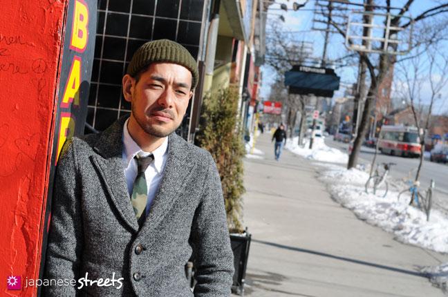 Hiroshi Awai, the Osaka-born creative director of CREEP