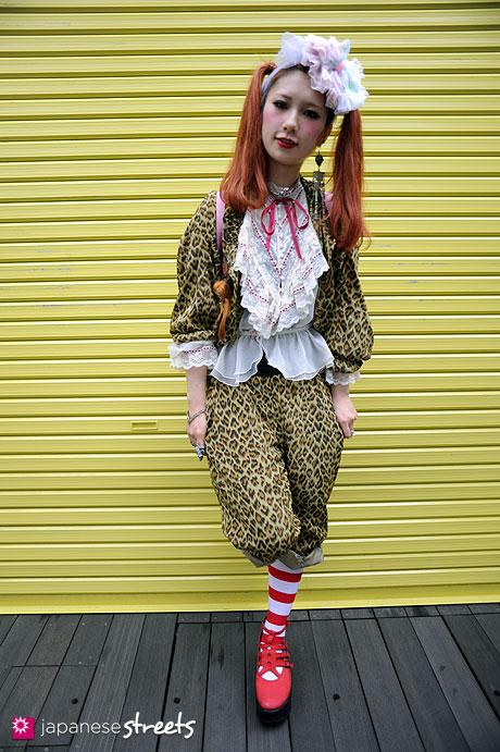 110703-8054 - Harajuku, Tokyo, Candy Stripper, Tokyo Bopper, Vivienne Westwood