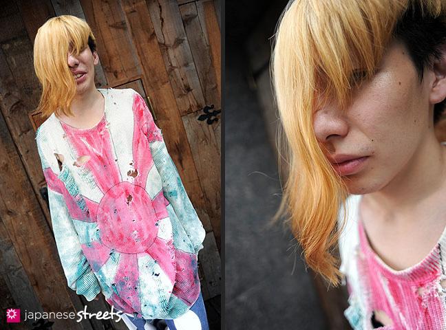 110824-8670-110824-8674: Japanese Street Fashion in Harajuku, Tokyo