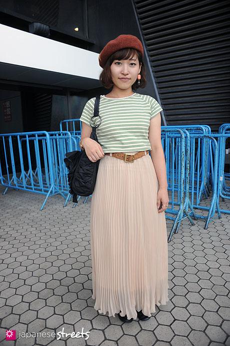 110913-0623:Harajuku, Tokyo, ecouter, Barairo no Boushi, ma chere Cosette?, DOMINGO, Ciaopanic, Leppet