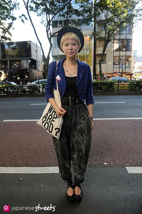 110918-1165:Harajuku, Tokyo, vetica, Forever21, CA4LA