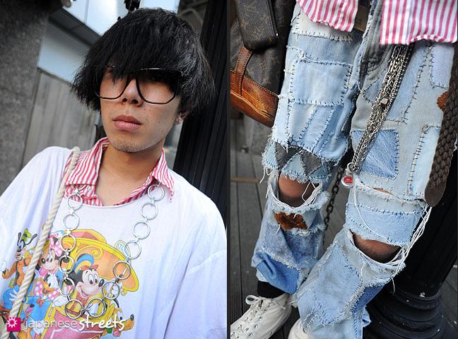 110824-8806-110824-8822: Japanese street fashion in Harajuku, Tokyo