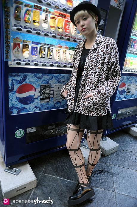111009-2866:Harajuku, Tokyo, NEW YORK JOE, Nadia, Brownie