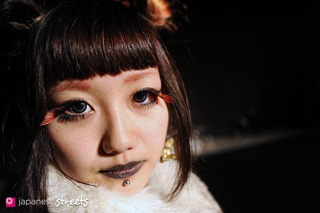 111020-0587: Japanese street fashion in Shibuya, Tokyo