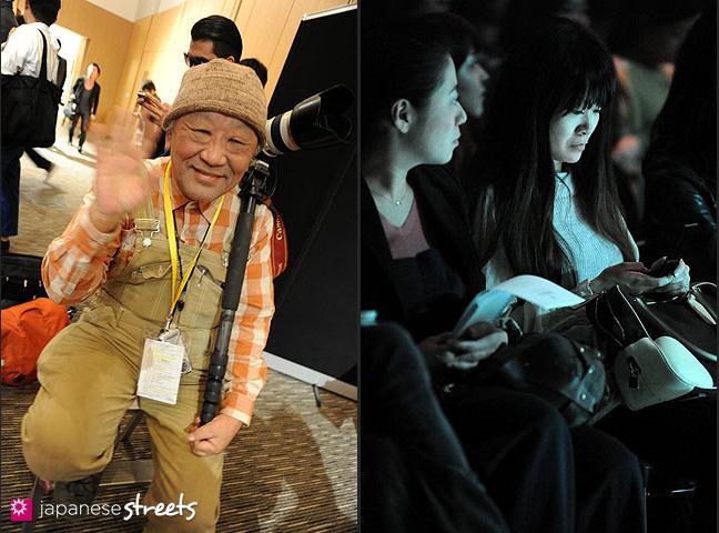 111018-7633-111019-8915: Japan Fashion Week in Tokyo