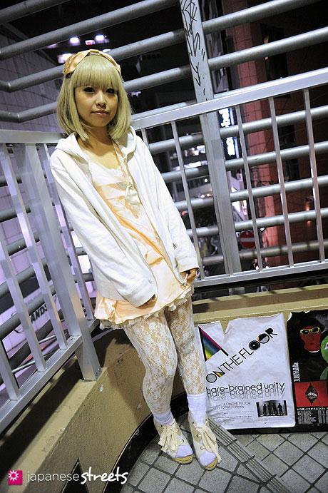 111030-5631: Japanese street fashion in Shibuya, Tokyo