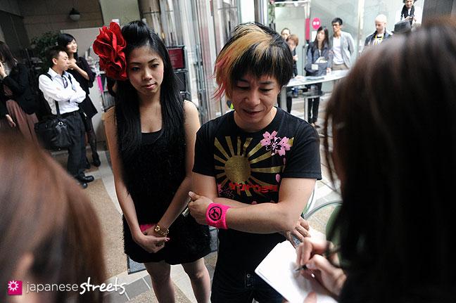111021-1258: Japanese designer Junya Tashiro at the Japan Fashion Week in Tokyo S/S 2012