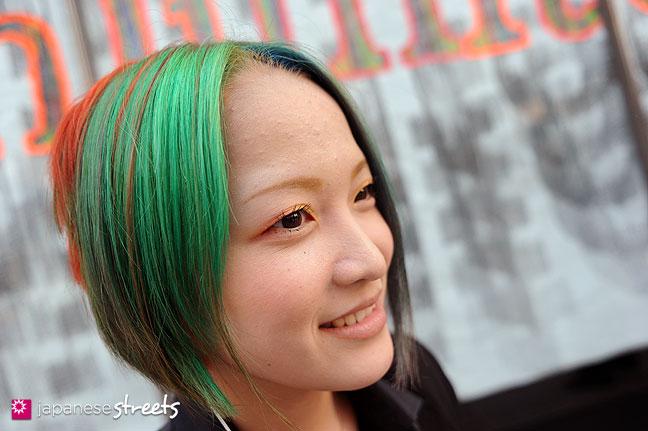 111104-7292: Bunka student at the Culture Festival of Bunka Fashion College in Tokyo