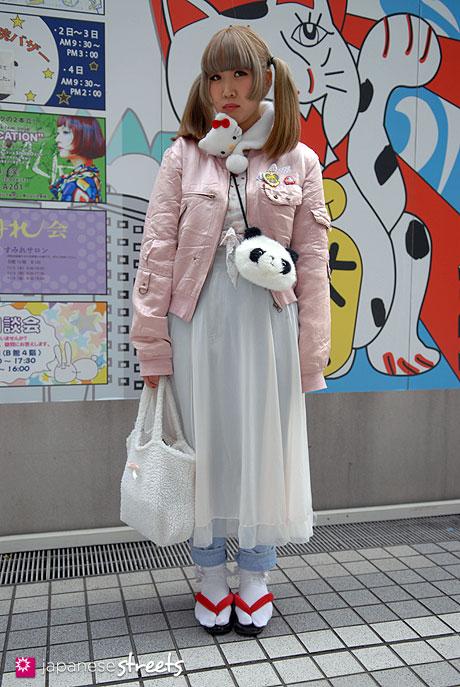110526-6580-AY: Japanese street fashion in Shibuya, Tokyo