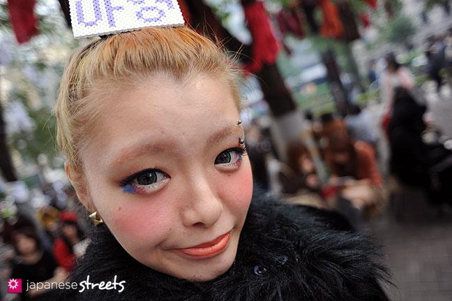 111103-6305: Japanese street fashion in Shibuya, Tokyo