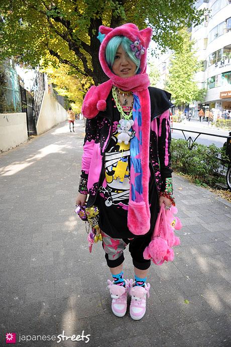 111127-0537: Harajuku-Tokyo-SUPER LOVERS-THANK YOU MART-mimjuuka-KREEPSVILLE666-tutuHA-LOVERS HOUSE-ZAGADO