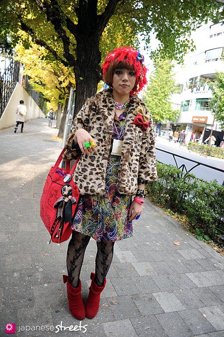 111127-0767: Harajuku-Tokyo-6%DOKIDOKI-Forever21-too much