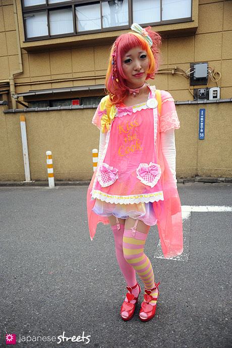 111127-1187: Harajuku-Tokyo-NUDE N' RUDE-6%DOKIDOKI-MILK-NUMBER406-party baby