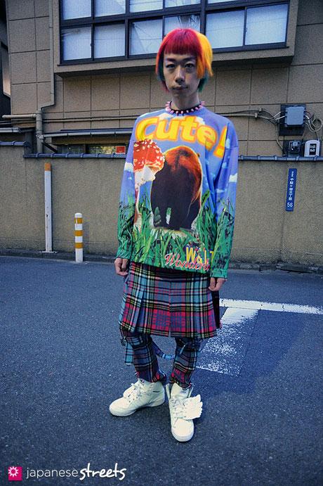 111127-1364: Harajuku-Tokyo-COO;YA-W&LT-SEXY DYNAMITE LONDON-adidas Originals by JEREMY SCOTT