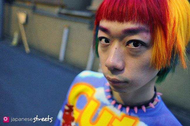 111127-1377: Japanese street fashion in Harajuku, Tokyo