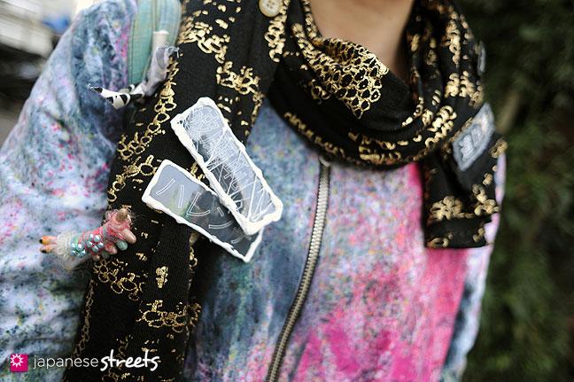 111127-0508: Japanese street fashion in Harajuku, Tokyo