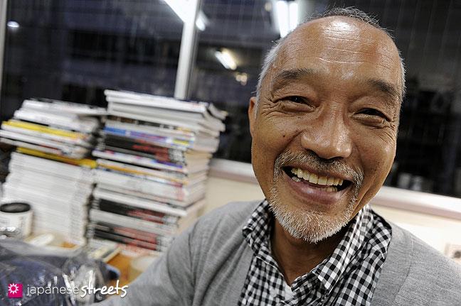 101108-7013 - Denime founder and current RESOLUTE director Yoshiyuki Hayashi