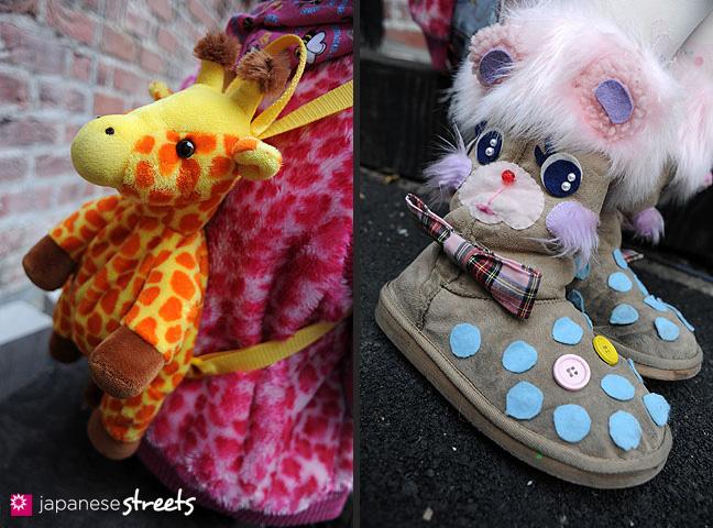 120101-2176-120101-2178: Japanese street fashion in Harajuku, Tokyo