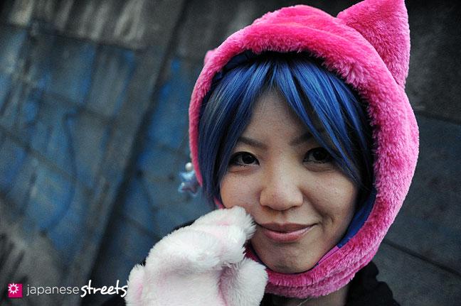 120101-2189: Japanese street fashion in Harajuku, Tokyo