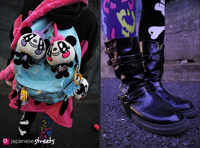 120101-2205-120101-2210: Japanese street fashion in Harajuku, Tokyo