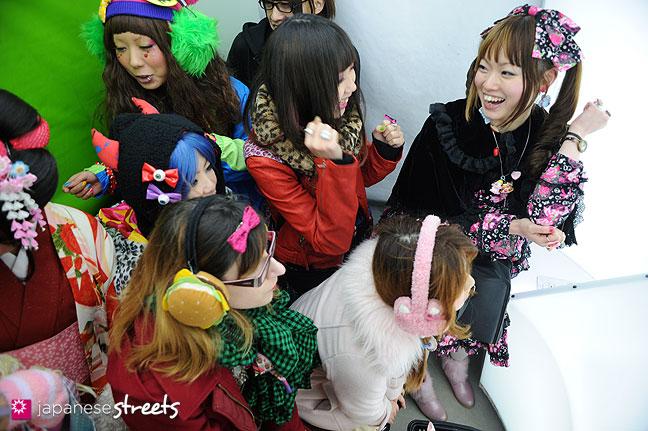120107-2251: Japanese street fashion in Harajuku, Tokyo