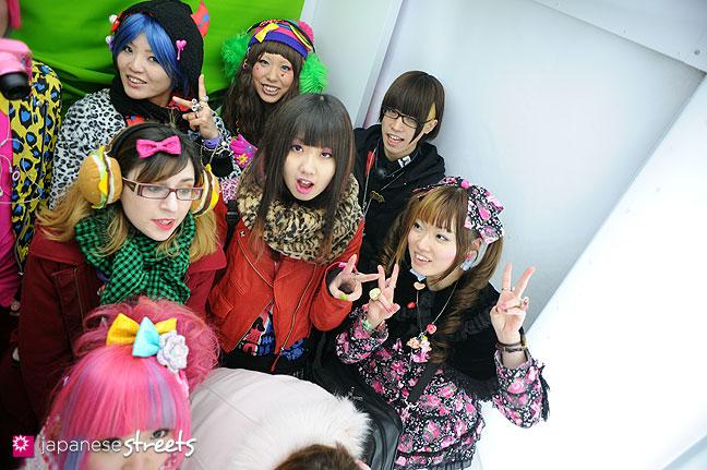 120107-2259: Japanese street fashion in Harajuku, Tokyo