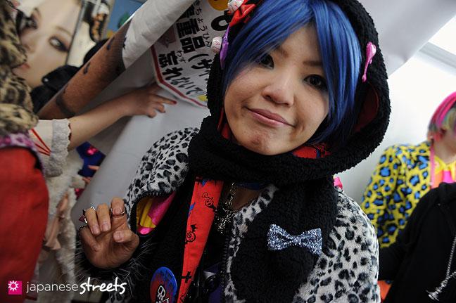 120107-2261: Japanese street fashion in Harajuku, Tokyo